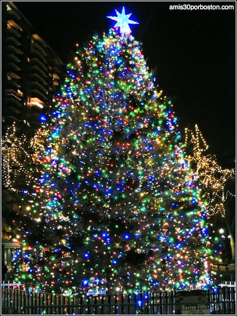 Árbol de Navidad Oficial de Boston 2014
