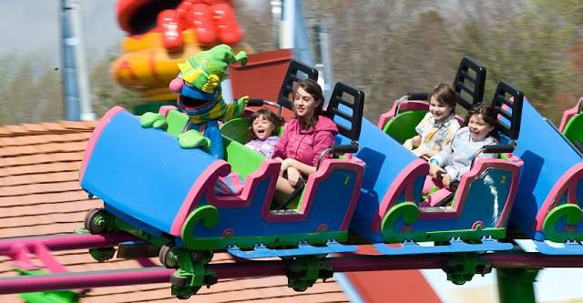 Parque Busch Gardens em Tampa