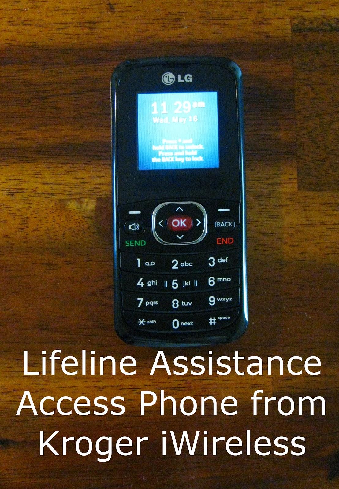 Our Lifeline Access Wireless Phone
