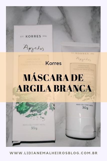 Máscara de Argila Branca - Korres