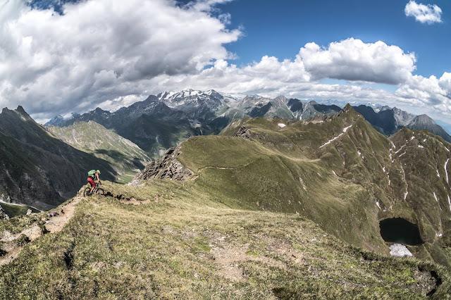 Trail Abfahrt Mountainbike Seefeldspitze Tour