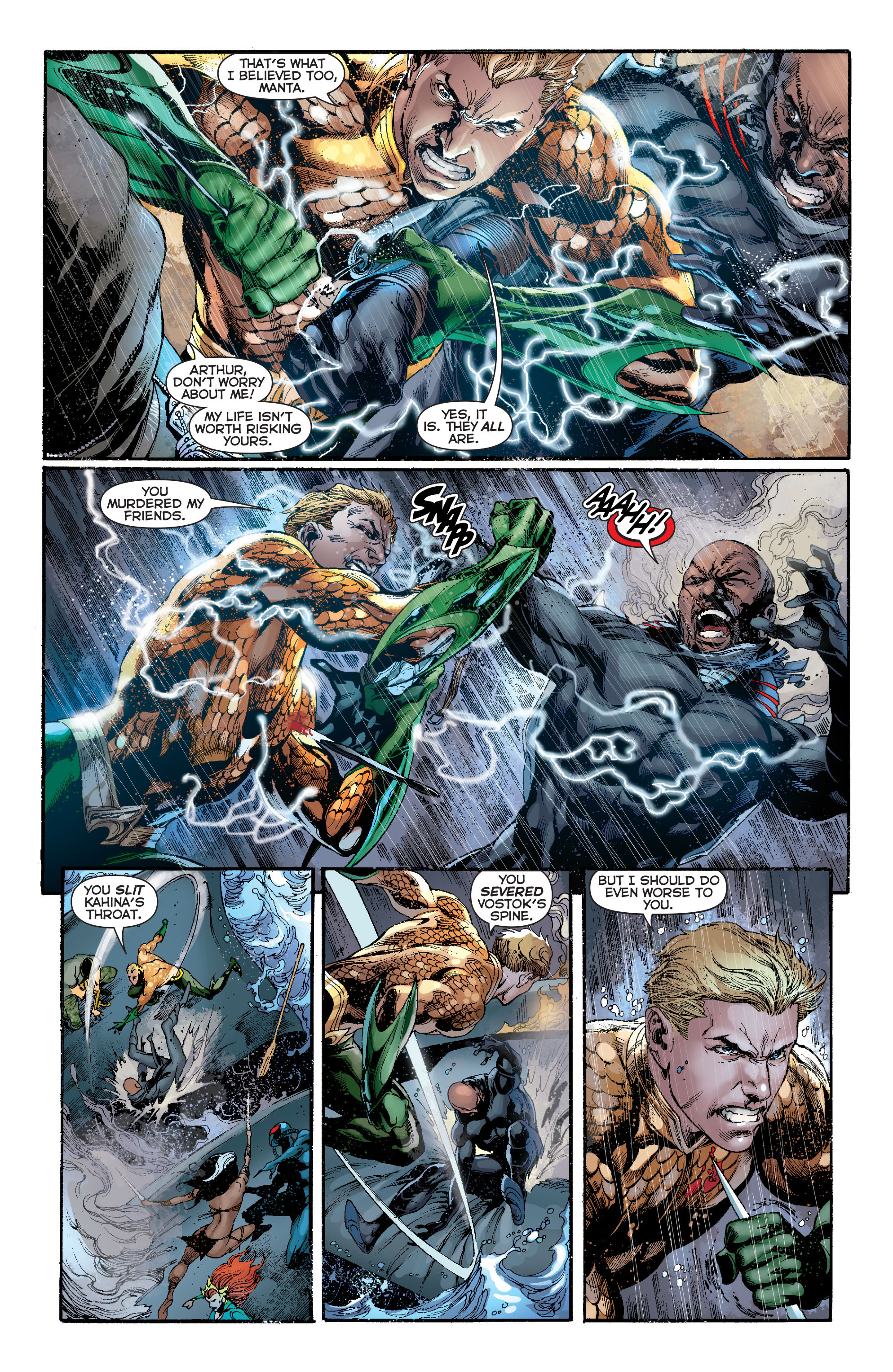 Read online Aquaman (2011) comic -  Issue #13 - 16