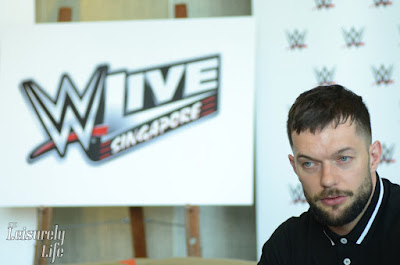 Face to face with WWE's 1st Universal Champion Finn Balor in Singapore