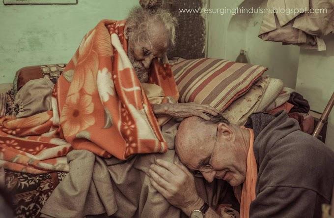 168 YEARS OLD - HANUMAN DAS BABA JI of VRINDAVAN IN INDIA