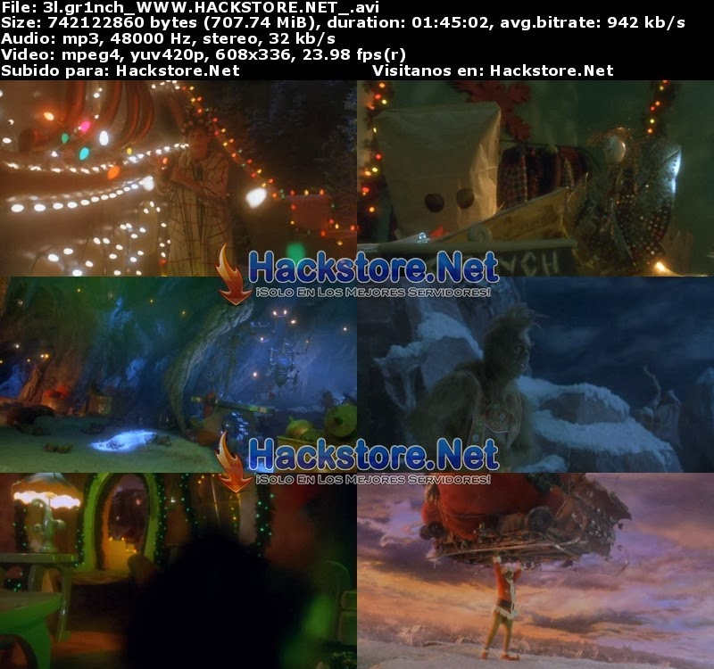 Captura El Grinch (2000) DVDRip Latino