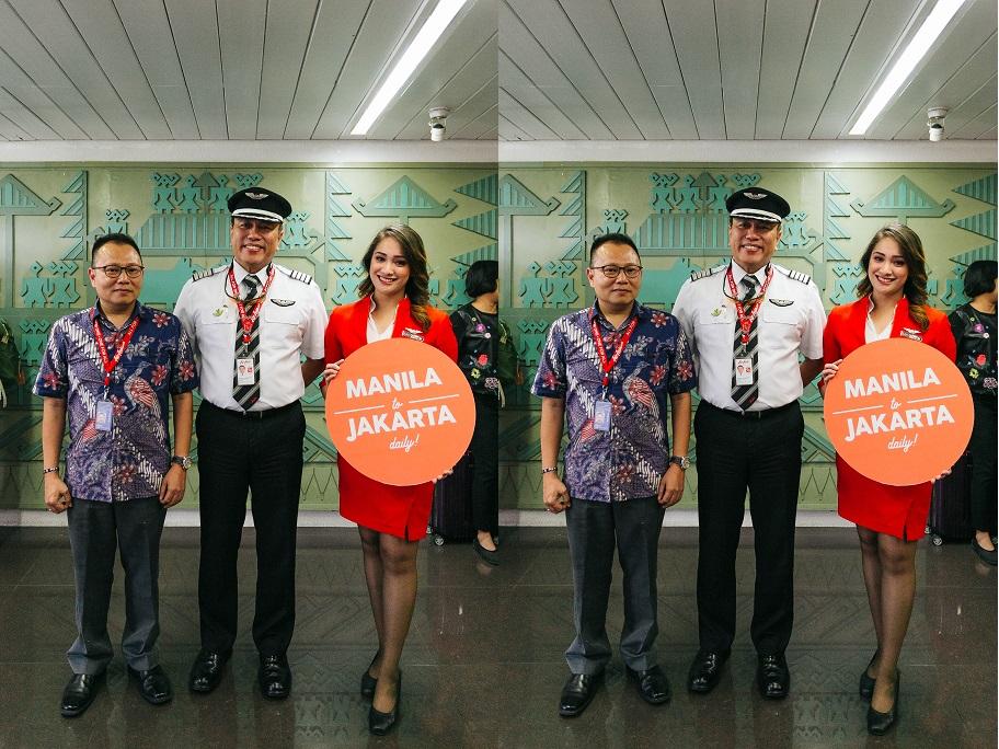 airasia flight manila to jakarta indonesia