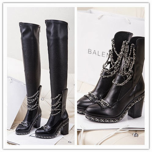 Ilovereplicabags Chanel Chained Boots From The Fall