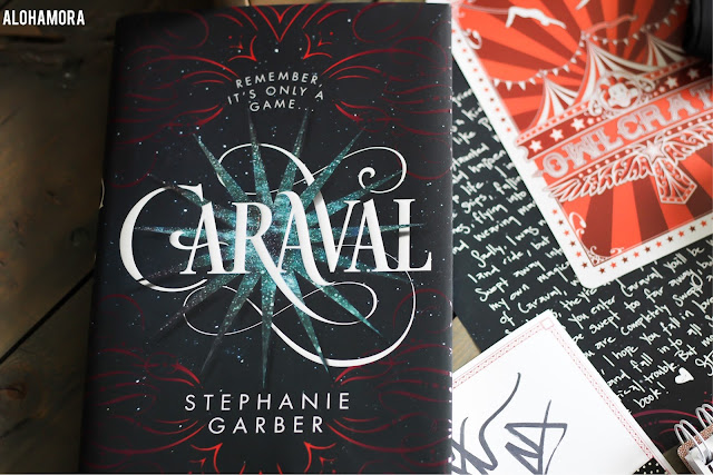 Caraval by Stephanie Garber gets 4 out of 5 stars in my book review of this ya lit fantasy read. Circus, Magic, Abuse, Love, Adventure, Scavenger Hunt http://alohamoraopenabook.blogspot.com/ Alohamora Open a Book