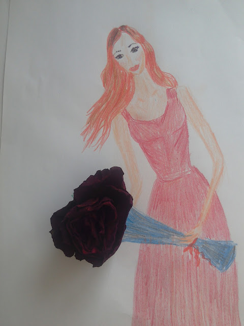 i #modnailustracija #sretnanova #drawing #pencildrawing