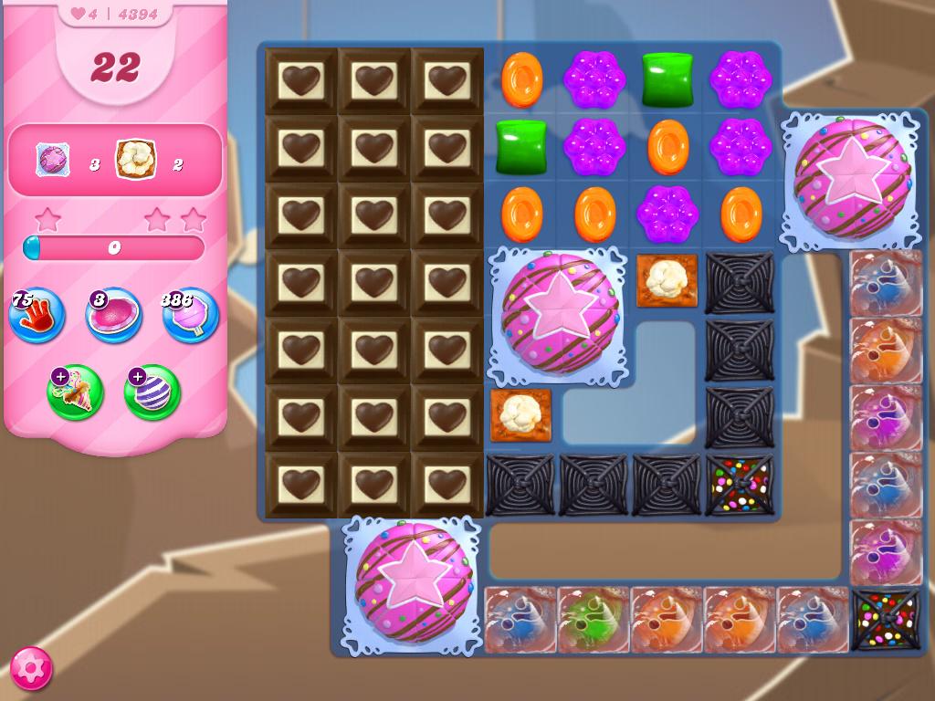 Candy Crush Saga level 4394