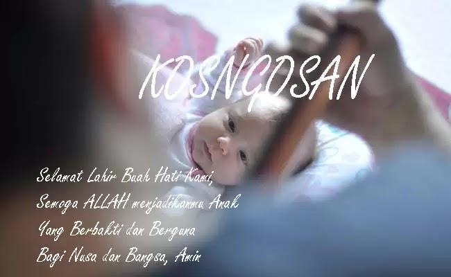 kata ucapan aqiqah bayi