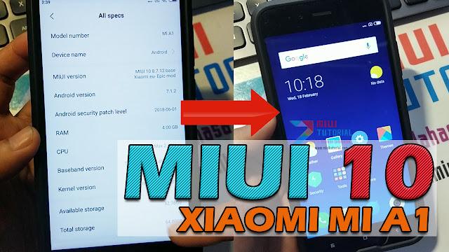 Dream Come True: Xiaomi Mi A1 Sudah Bisa Dipasangi Rom Miui 10 Global Stabil - Berikut tata Cara Instalasinya