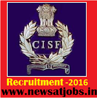 cisf+recruitment+2016