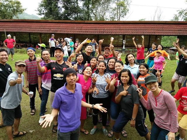 Outbound Guru dan Karyawan SMP Kristen Kalam Kudus Surakarta