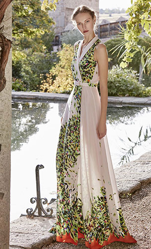 Dolores Promesas vestido largo fiesta Heaven primavera verano