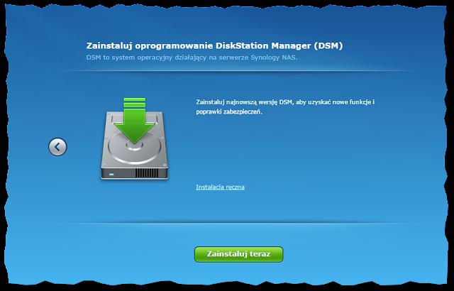 Informacja o konieczności instalacji systemu DSM