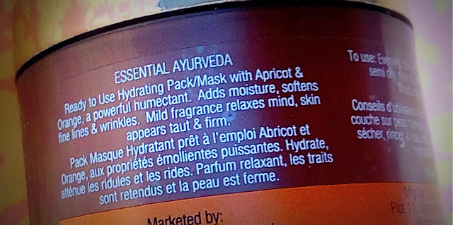 Review of Inveda Glow Face Pack with Comforting Apricot and Orange