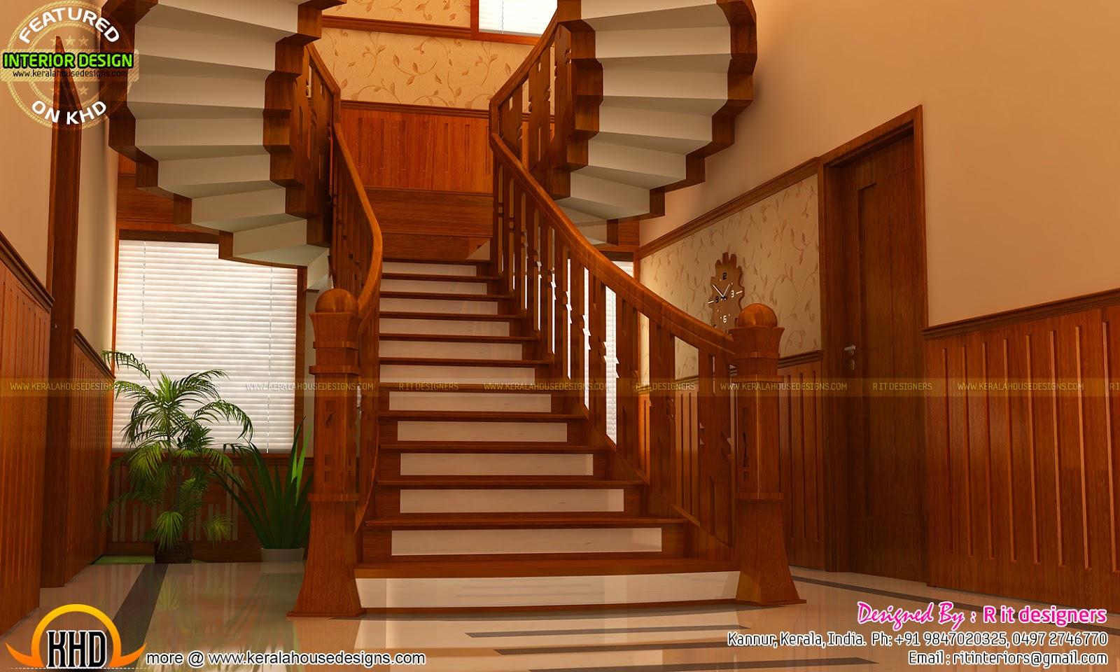 Bifurcated Stair, Bedroom, Kitchen Interiors