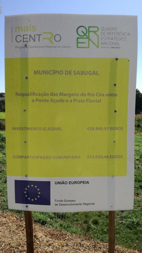 Requalificação das Margens do Rio Côa entre a Ponte Açude e a Praia Fluvial