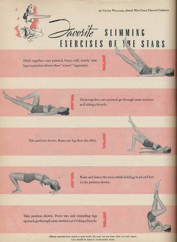 The Pin up Girl Workout Pinup Darling