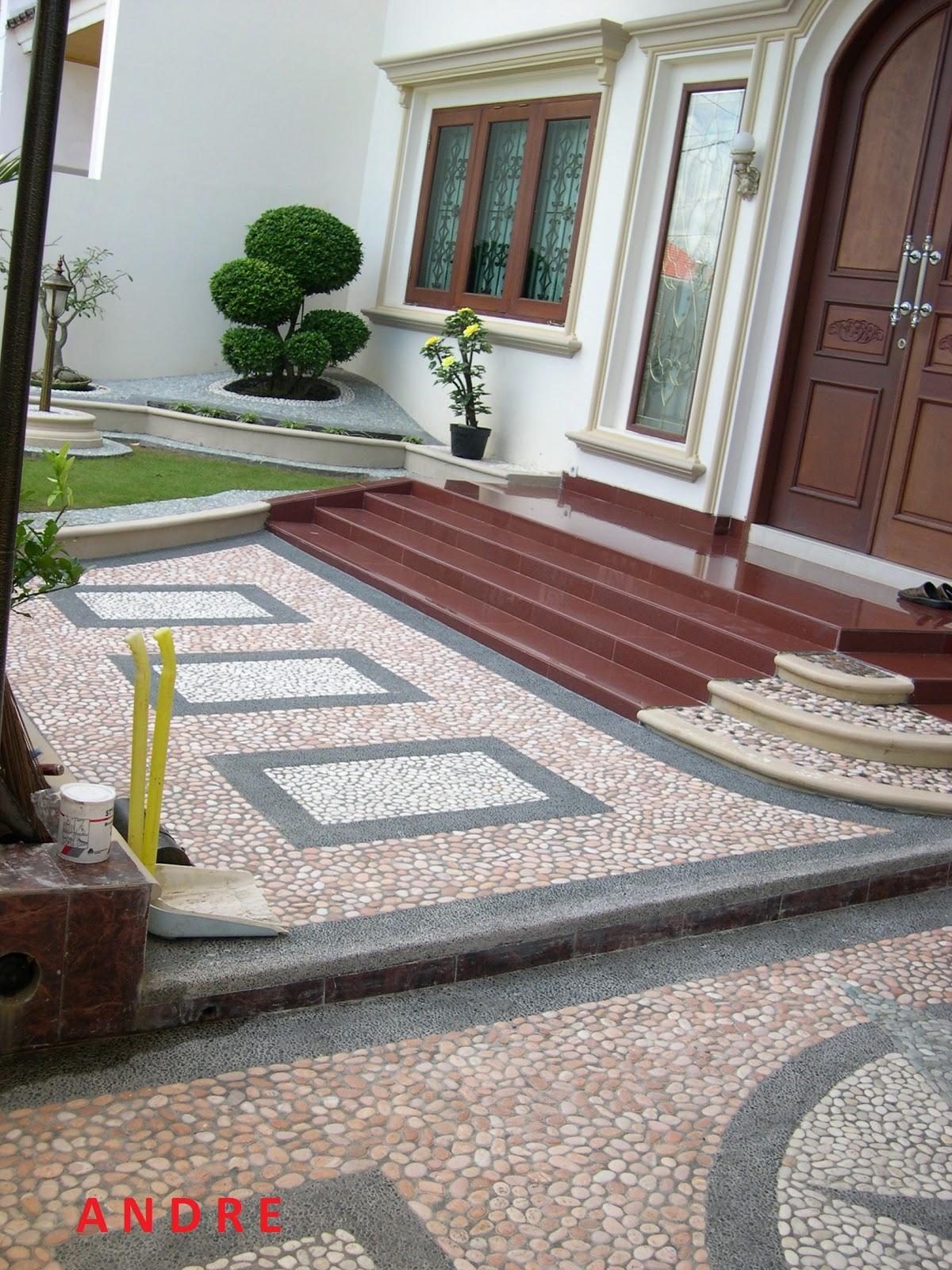 Lestari Alam Indah Makassar Carport Batu Sikat