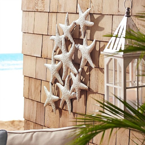 Outdoor coastal wall art decor metal art canvas art for Coastal wall decor ideas