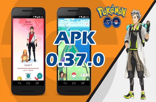 Pokemon Go Se Atualiza APK 0.37.0 (Si eres ROOT ya no podrás Jugar)