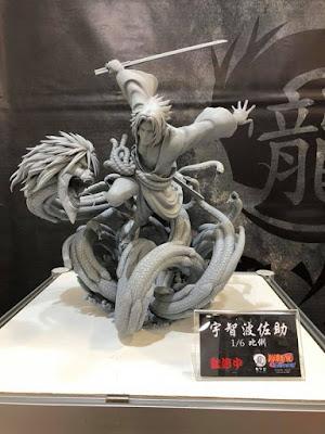 "Figuras: Imágenes oficiales de Sasuke Uchiha de ""Naruto"" - Ryu Studio"