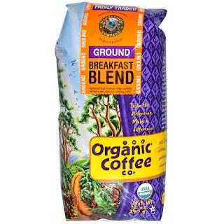 Organic Coffee Co., Breakfast Blend, Ground Coffee