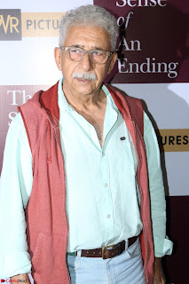 Nimrat Kaur and Naseeruddin Shah at Special Screening Of movie The Sense Of An Ending 12.JPG