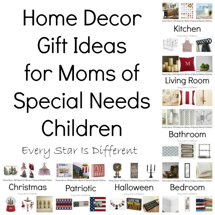 Home Design Gift Ideas: Home Decor Gift Ideas For Moms Of Special Needs Children