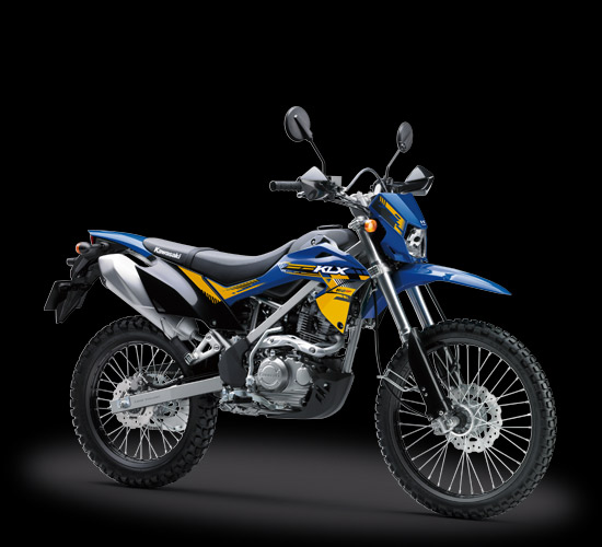 Kawasaki Indonesia perkenalkan warna baru KLX 150BF SE Extreme di Jakarta Fair 2018