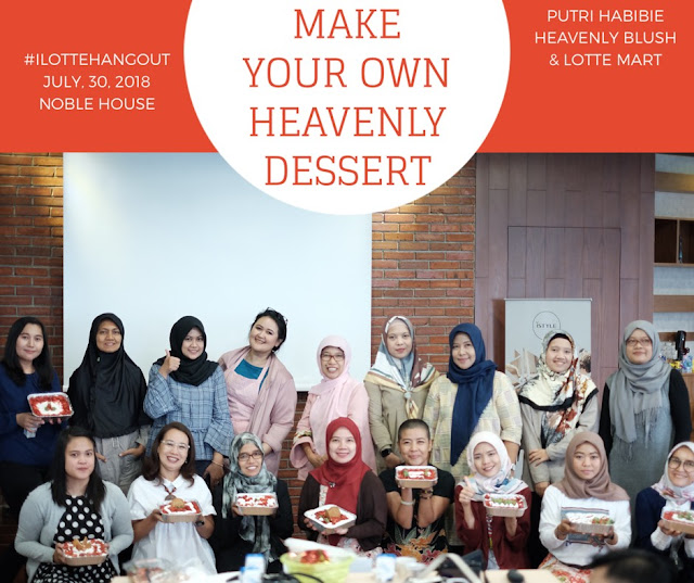 ilottehangout make your own heavenly dessert