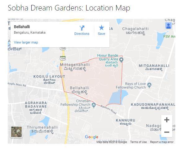 Sobha Dream Gardens - Bellahalli