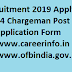 OFD 1704 Chargeman Recruitment 2019 Apply Online - ofbindia.gov.in