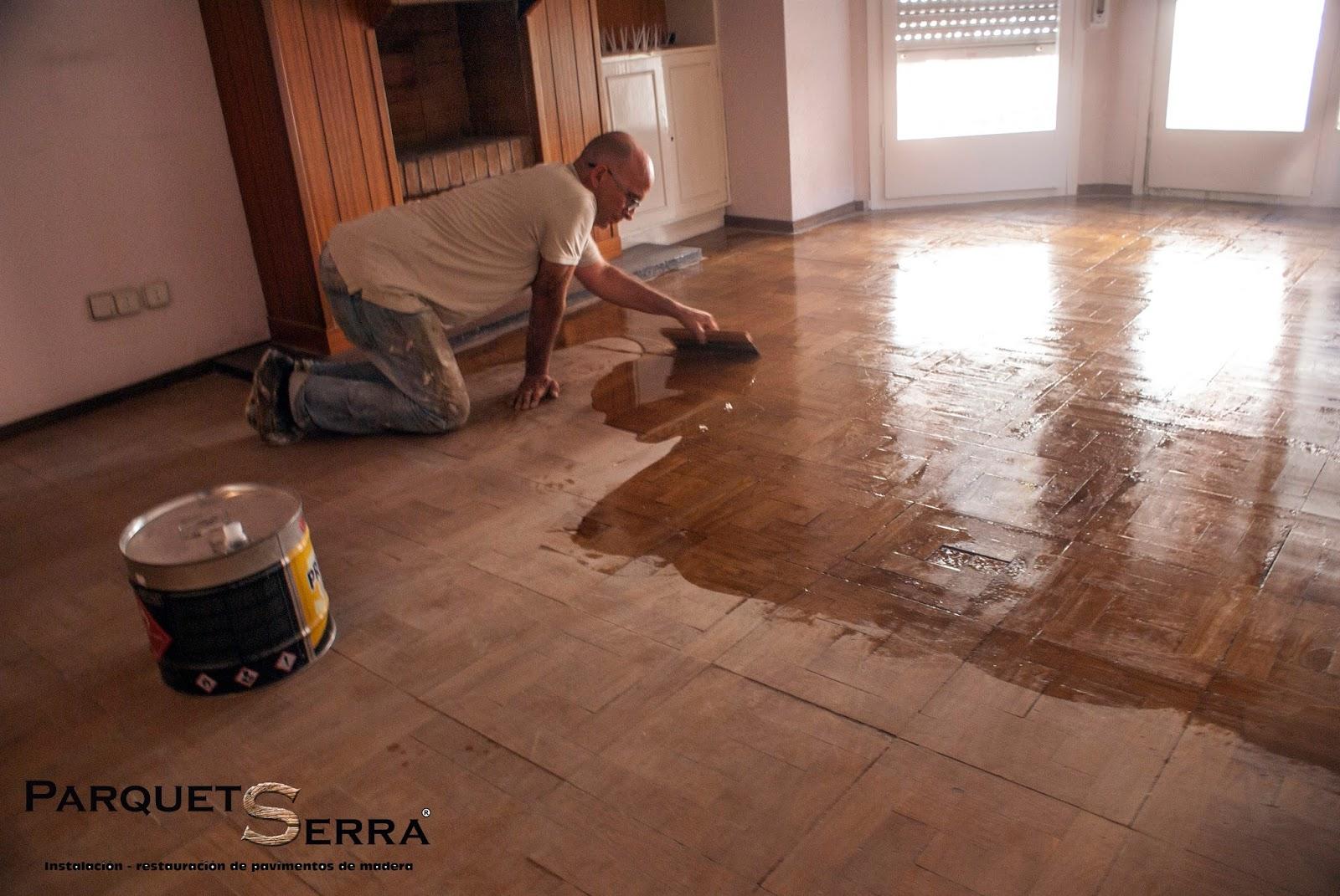 Como arreglar mi parquet - Como reparar piso de parquet rayado ...