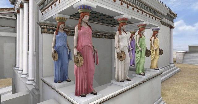"""Η εικονική πραγματικότητα ζωντανεύει την Ακρόπολη του 5ου πΧ αιώνα στον """"Ελληνικό Κόσμο"""""""