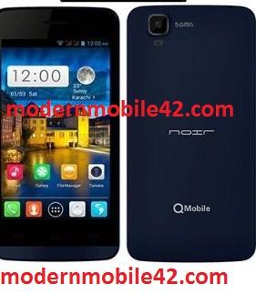 qmobile a120 firmware