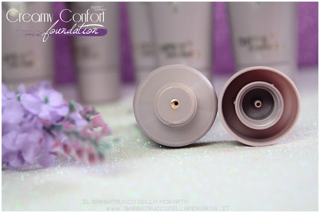 creamy confort foundation Fondotinta Neve Cosmetics opinioni