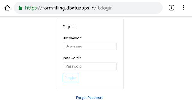 Formfilling DBATU