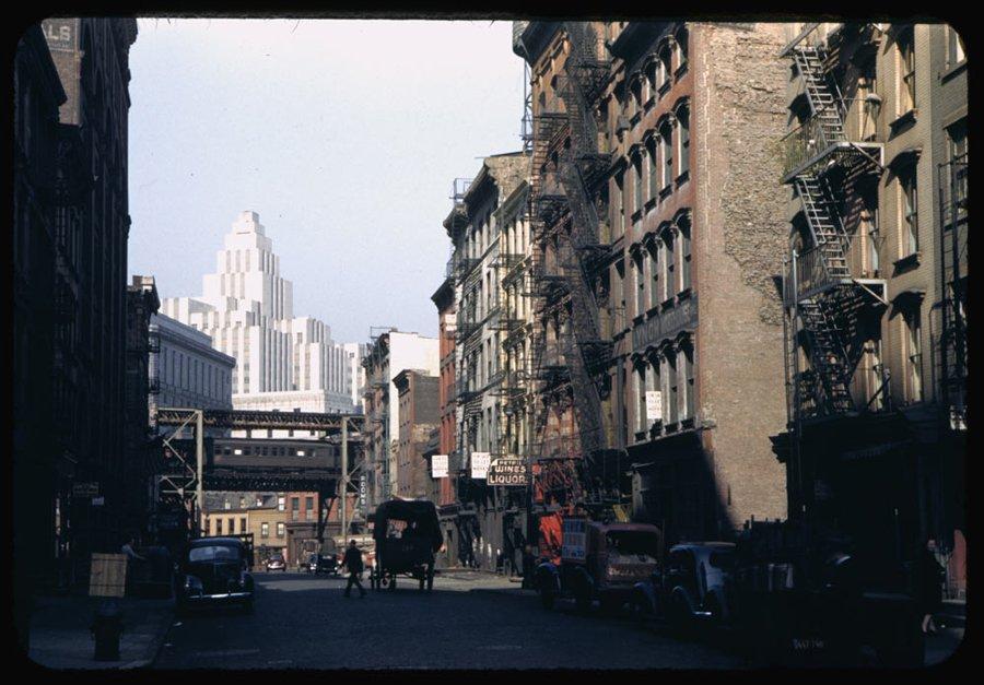 Amazing Vintage Photos of Manhattan in the 1940s  vintage