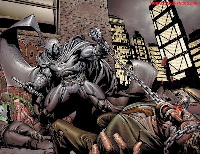 Marvel antihero Moon Knight gory kills