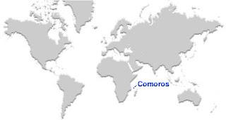 image: Comoros Islands Map Location