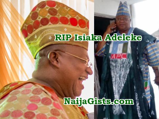 senator isiaka adeleke spiritual attack