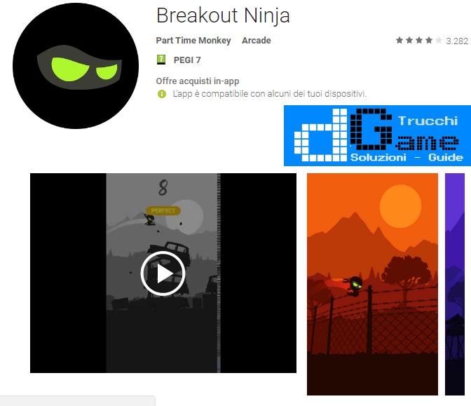 Trucchi Breakout Ninja Mod Apk Android