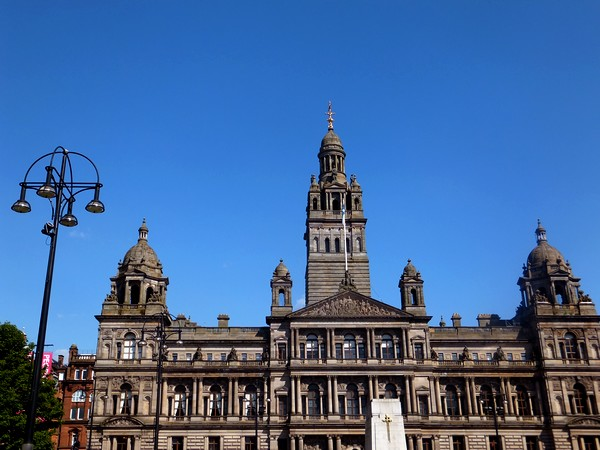 glasgow écosse scotland george square