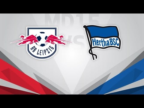 RasenBallsport Leipzig vs Hertha Berlin Full Match & Highlights 17 December 2017