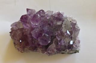 L' améthyste lilas violet très clair