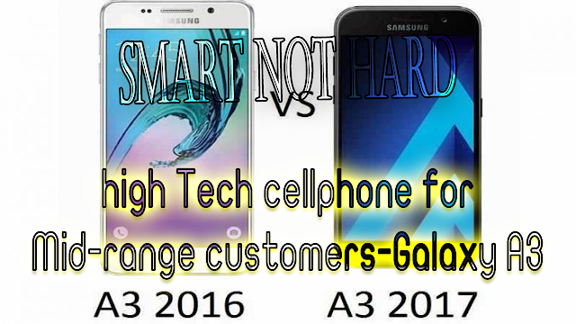 high Tech cellphone for Mid-range customers-Galaxy A3 2017