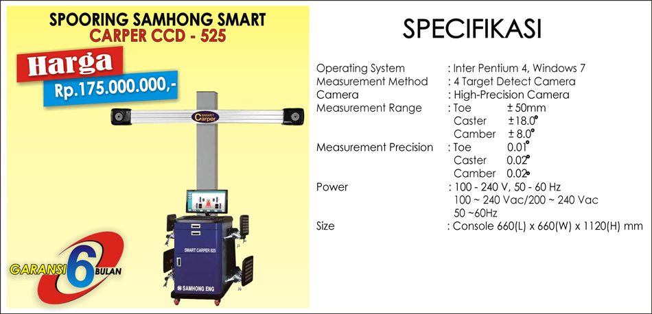 Spooring Samhong Smart